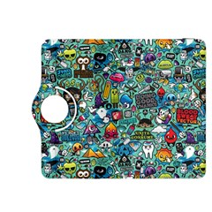 Colorful Drawings Pattern Kindle Fire Hdx 8 9  Flip 360 Case by Nexatart