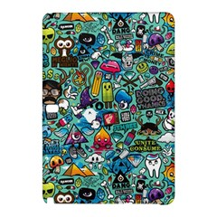 Colorful Drawings Pattern Samsung Galaxy Tab Pro 12 2 Hardshell Case by Nexatart