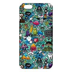 Colorful Drawings Pattern Iphone 6 Plus/6s Plus Tpu Case