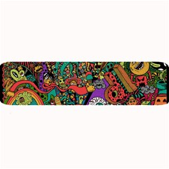Monsters Colorful Doodle Large Bar Mats
