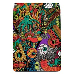 Monsters Colorful Doodle Flap Covers (s)  by Nexatart