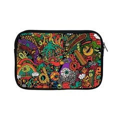 Monsters Colorful Doodle Apple Ipad Mini Zipper Cases
