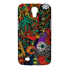 Monsters Colorful Doodle Samsung Galaxy Mega 6 3  I9200 Hardshell Case by Nexatart