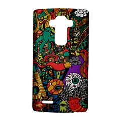 Monsters Colorful Doodle Lg G4 Hardshell Case by Nexatart