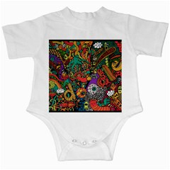 Monsters Colorful Doodle Infant Creepers