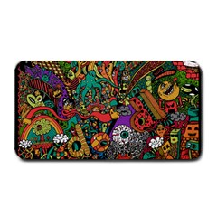 Monsters Colorful Doodle Medium Bar Mats