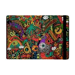Monsters Colorful Doodle Apple Ipad Mini Flip Case by Nexatart