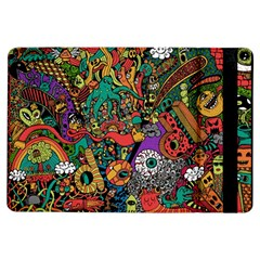 Monsters Colorful Doodle Ipad Air Flip by Nexatart