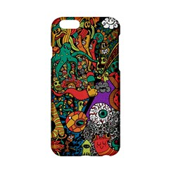 Monsters Colorful Doodle Apple Iphone 6/6s Hardshell Case