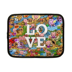 Doodle Art Love Doodles Netbook Case (small)