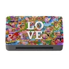 Doodle Art Love Doodles Memory Card Reader With Cf by Nexatart