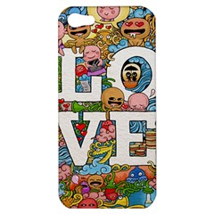 Doodle Art Love Doodles Apple Iphone 5 Hardshell Case