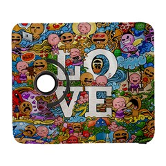 Doodle Art Love Doodles Galaxy S3 (flip/folio) by Nexatart