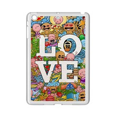 Doodle Art Love Doodles Ipad Mini 2 Enamel Coated Cases by Nexatart