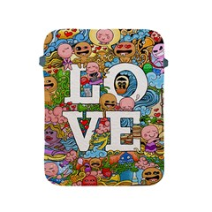 Doodle Art Love Doodles Apple Ipad 2/3/4 Protective Soft Cases