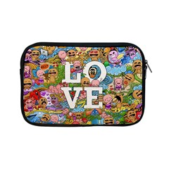 Doodle Art Love Doodles Apple Ipad Mini Zipper Cases