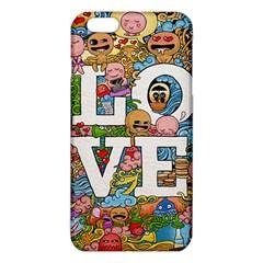 Doodle Art Love Doodles Iphone 6 Plus/6s Plus Tpu Case by Nexatart