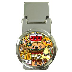 Cute Food Wallpaper Picture Money Clip Watches by Nexatart