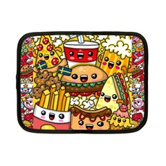 Cute Food Wallpaper Picture Netbook Case (small)  by Nexatart