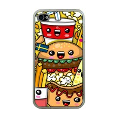 Cute Food Wallpaper Picture Apple Iphone 4 Case (clear)