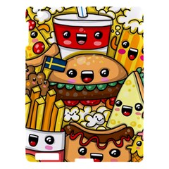 Cute Food Wallpaper Picture Apple Ipad 3/4 Hardshell Case by Nexatart