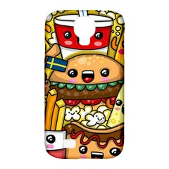 Cute Food Wallpaper Picture Samsung Galaxy S4 Classic Hardshell Case (pc+silicone)