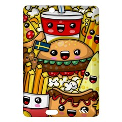 Cute Food Wallpaper Picture Amazon Kindle Fire Hd (2013) Hardshell Case by Nexatart