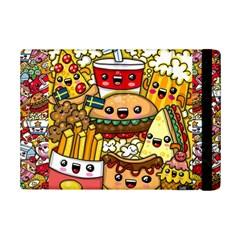 Cute Food Wallpaper Picture Ipad Mini 2 Flip Cases by Nexatart