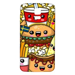 Cute Food Wallpaper Picture Samsung Galaxy S5 Back Case (white)