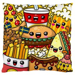 Cute Food Wallpaper Picture Standard Flano Cushion Case (one Side)