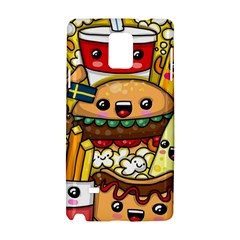 Cute Food Wallpaper Picture Samsung Galaxy Note 4 Hardshell Case by Nexatart