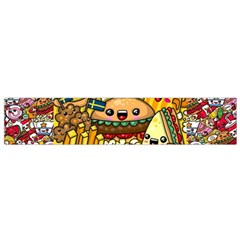 Cute Food Wallpaper Picture Flano Scarf (small) by Nexatart