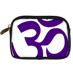 Hindu Om Symbol (purple) Digital Camera Cases by abbeyz71