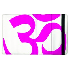 Hindu Om Symbol (magenta) Apple Ipad 3/4 Flip Case by abbeyz71