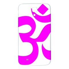 Hindu Om Symbol (magenta) Samsung Galaxy Mega I9200 Hardshell Back Case by abbeyz71