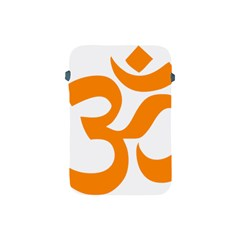 Hindu Om Symbol (orange) Apple Ipad Mini Protective Soft Cases by abbeyz71