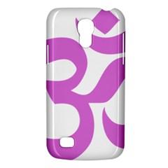 Hindu Om Symbol (bright Purple) Galaxy S4 Mini by abbeyz71