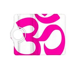 Hindu Om Symbol (pink) Kindle Fire Hd (2013) Flip 360 Case by abbeyz71