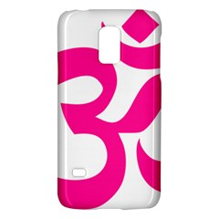 Hindu Om Symbol (deep Pink) Galaxy S5 Mini by abbeyz71