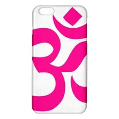 Hindu Om Symbol (deep Pink) Iphone 6 Plus/6s Plus Tpu Case by abbeyz71