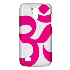 Hindu Om Symbol (deep Pink) Galaxy S4 Mini by abbeyz71