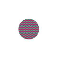 Retro Pattern Zig Zag 1  Mini Magnets by Nexatart