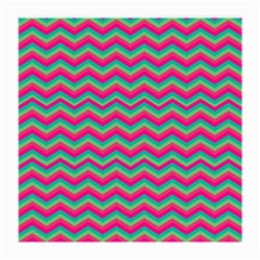 Retro Pattern Zig Zag Medium Glasses Cloth by Nexatart