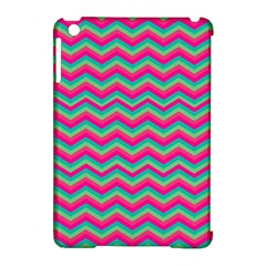 Retro Pattern Zig Zag Apple Ipad Mini Hardshell Case (compatible With Smart Cover)