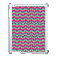 Retro Pattern Zig Zag Apple Ipad 3/4 Case (white) by Nexatart