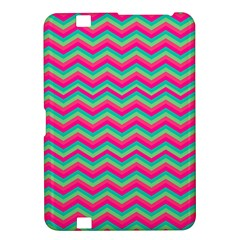 Retro Pattern Zig Zag Kindle Fire Hd 8 9  by Nexatart