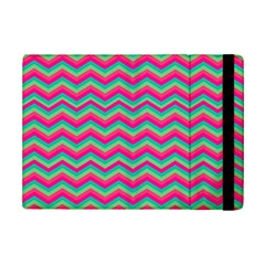 Retro Pattern Zig Zag Ipad Mini 2 Flip Cases by Nexatart