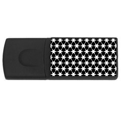 Star Egypt Pattern Usb Flash Drive Rectangular (4 Gb) by Nexatart