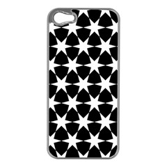 Star Egypt Pattern Apple Iphone 5 Case (silver)