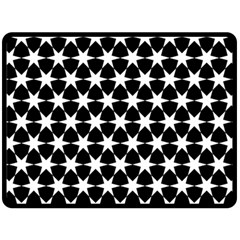 Star Egypt Pattern Double Sided Fleece Blanket (large)
